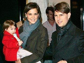 Katie Holmes  Cruise Suri on Suri Katie Holmes Tom Cruise